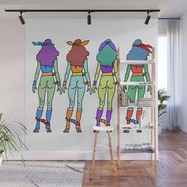 Teenage Mutant Ninja Women Butts Wall Mural