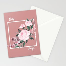 Only Angel Stationery Cards