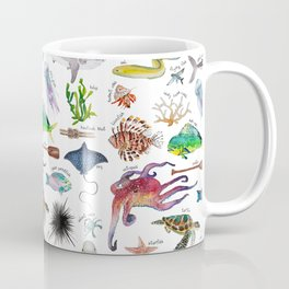 Under the Sea Alphabet Coffee Mug