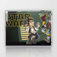 Star Wars - Han Solo x Bobba Fett Laptop & iPad Skin
