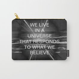 We Live In A Universe Quote - Society6 - Art - Luxury - Comforter - Bedding - Throw Pillows - Laptop Carry-All Pouch
