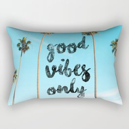 Good LA Vibes Only #society6 #lifestyle Rectangular Pillow