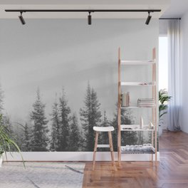 PINE TREES Wall Mural