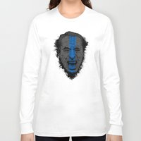bukowski Long Sleeve T-shirts featuring Bukowski | Bluebird by Gabriel Mihai | SnakeBishop