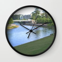 River Flow Wall Clock