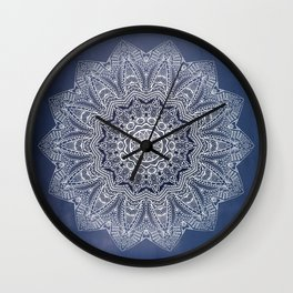 INDIGO DREAMS Wall Clock