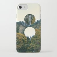 portlandia iPhone & iPod Cases featuring Waterfall Sky by Olga Perelman
