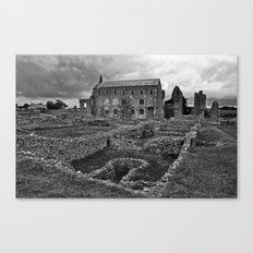 St Marys Priory Canvas Print