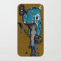 narwhal iPhone & iPod Cases featuring Narwhal by Mowgli Tattoo