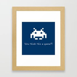 Invader Games Framed Art Print