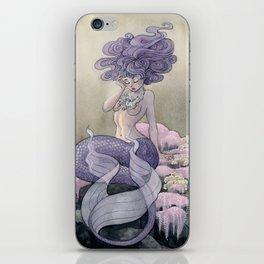 Lavender Mermaid iPhone Skin