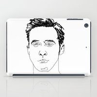 ryan gosling iPad Cases featuring Ryan Gosling by Caron Lee