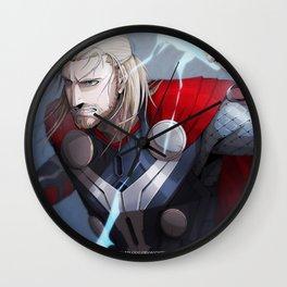 Thor 2 - Thor Print Wall Clock