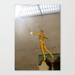 The Met Canvas Print