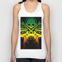 punk rock Tank Tops featuring punk rock  by jhun21