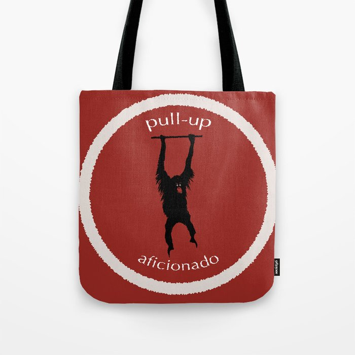 Pull-Up Aficionado Tote Bag by graphicdesigner  16b43cc1f254f