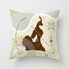 Cameroon Soaring Throw Pillow