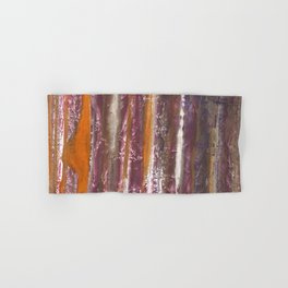 Abstract striped painted Hand & Bath Towel