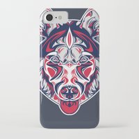 husky iPhone & iPod Cases featuring Husky by Clinton Hamilton
