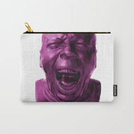 CHARACTER HEAD NO. 5 (yawning) Carry-All Pouch
