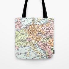European tour Tote Bag