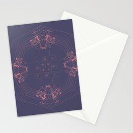 Detailed architectural node_2 Stationery Cards