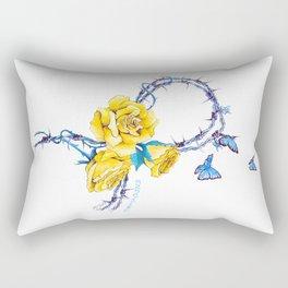 Ribbon | Endometriosis awareness Rectangular Pillow