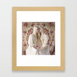 Twins (Reflections) Framed Art Print
