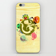 CARE - Love Our Earth iPhone Skin