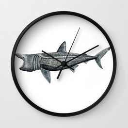 Basking shark (Cetorhinus maximus) Wall Clock