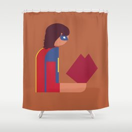 Ms Lady Reads Shower Curtain