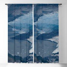 Aerial Glacier - Alaska Blackout Curtain
