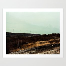 centralia 3 (wind) Art Print