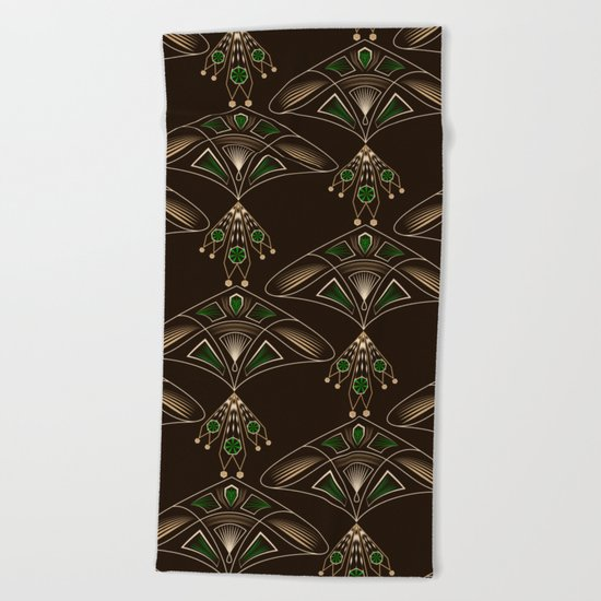 Art Deco. №1 Beach Towel