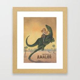 Plains of Amalor Framed Art Print