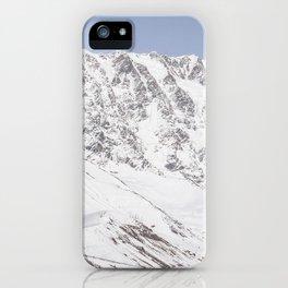 Caucasus Mountains iPhone Case