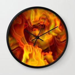 hot space Wall Clock