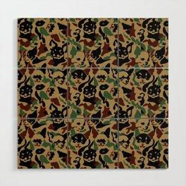 Chihuahua Camouflage Wood Wall Art