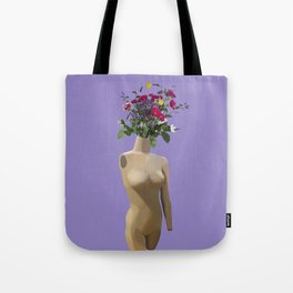 Floral Display Tote Bag