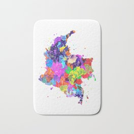 Colombia Map Bath Mat