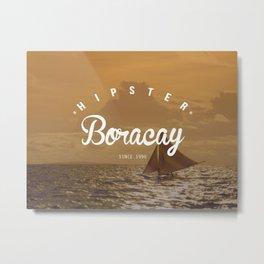 Hipster Boracay Metal Print