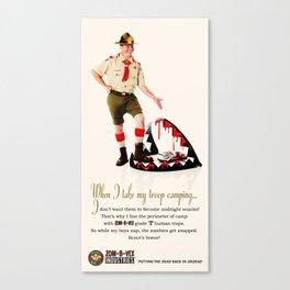 Zom-B-Vex Scout Master Canvas Print