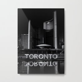 Toronto City Hall No 1 Metal Print