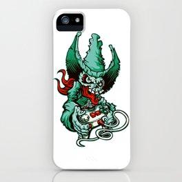Gamer Skull - Monte Carlo iPhone Case