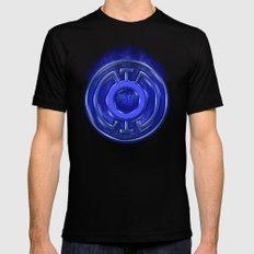 Blue Lantern Corp (Hope) Mens Fitted Tee Black MEDIUM