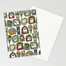 veggie sushi white Stationery Cards