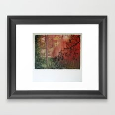 The Light is changing colour.... Framed Art Print