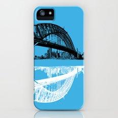 sydney in blue iPhone (5, 5s) Slim Case
