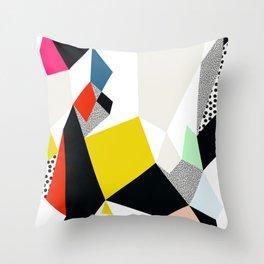 Flowerpot Throw Pillow