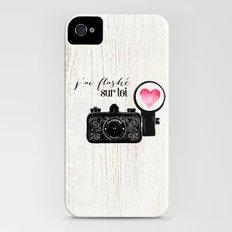 J'ai flashé sur toi Slim Case iPhone (4, 4s)